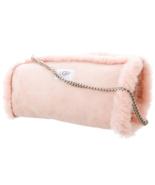 UGG Blush Pink Suede & Shearling Handwarmer MUFF Purse, Style SU802, One... - $79.00
