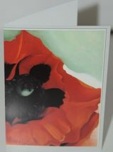 Caspari 18607 46 OKeefe Assorted Boxed Notes Envelopes Package 8 3 Designs image 3