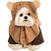 "Rubie's Official Star Wars Ewok Pet Dog Costume Small, Neck To Tail 11"",... - £21.67 GBP"