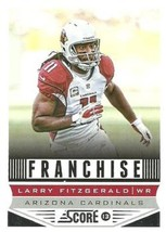 2013 Panini Score Franchise #267 Larry Fitzgerald NM-MT Cardinals - $0.99
