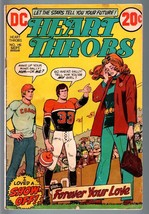 HEART THROBS #145 1972 DC-ROMANCE-G-FOOTBALL COVER G - $22.70