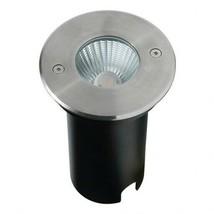 Cree LED iluminación del jardín - 10W Acero inox redondo IP67 Blanco cál... - $77.35