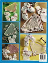 Baby Infant Toddler Crochet Head Scarf Sock Trim Lacy Shoe Lace Pattern ... - $11.99