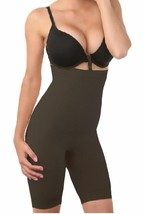NEW WOMEN'S WAIST CINCHER THIGH TRIMMER SHAPEWEAR BUTT LIFTER BLACK #8182