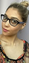 New COACH  HC6960 8252 Black Cats Eye 51mm Women's Eyeglasses Frame  - $129.99