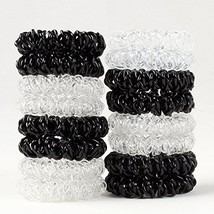 Plastic Spiral Crease Ponytail Holder - $188,31 MXN