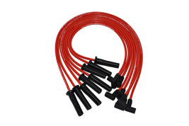 A-TEAM BBC CHEVY 396 402 427 454 502 HEI RED 8mm SPIRAL CORE SPARK PLUG WIRES RD