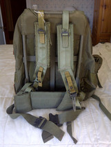 MILITARY OD GREEN FIELD BACK PACK FRAME LARGE R... - $49.45