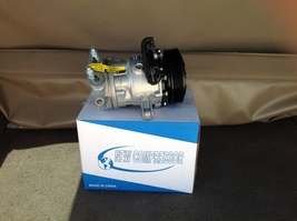 02 05 jeep liberty 3.7 ac air conditioning compressor with clutch  3  thumb200