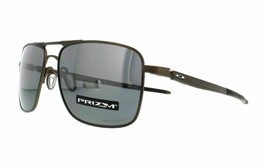 Oakley GAUGE 6 POLARIZED Sunglasses OO6038-0657 Pewter Frame W/ PRIZM Bl... - $168.29