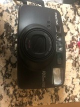 Pentax IQZoom 140M 35mm Film Camera with 38-140mm Zoom Lens Black. - $19.75