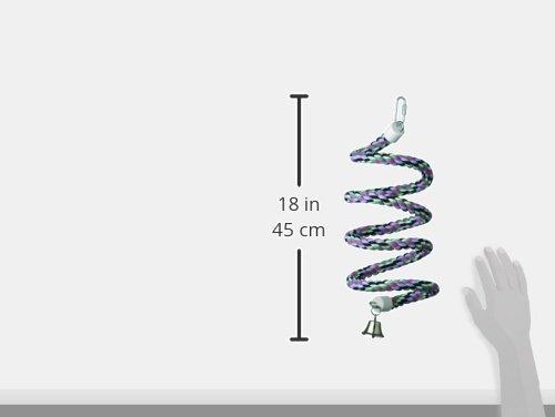 Super Bird Creations 3/4-Inch by 66-Inch Rope Bungee Bird Toy, Medium