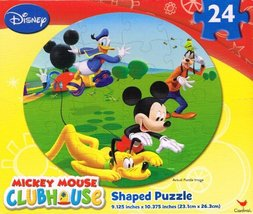 Disneys Mickey Mouse Clubhouse 24 Piece Jigsaw Puzzle - by Disney - $4.27