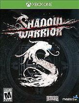 Shadow Warrior (Microsoft Xbox One) NEW Video Game - $19.99