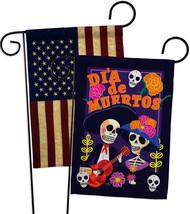 Dia de Muertos Couple - Impressions Decorative USA Vintage - Applique Garden Fla - $30.97