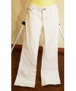 tommy hilfiger jeans womens size 8 white pants 32 x 31  - $7.99