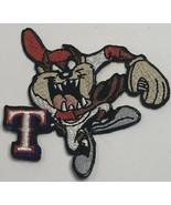 Taz Tazmanian Devil Texas Rangers Baseball Uniform Patch Embroidered 3 x 3 - $19.59
