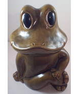 "VTG Sears Neil the Frog Cookie Jar 906 USA 12""  x 10"" x 7"" Green - $35.63"