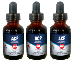 ACP-EMP Endometrosis Disorder Ionic Pack of 3 Bottles (3X60 ml) - $98.95
