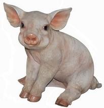 Hi-Line Gift Ltd Pig Sitting Figurine, 9-Inch - $48.09