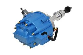 BBF Ford 351C 429 460 V8 Coil Hei Distributor 50,000 50k Volt w/ Blue Cap image 2