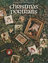 "Hard Covered Book - ""Christmas Portraits"" - Leisure Arts - Gently Used - $18.00"