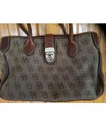"""""""Dooney & Bourke""""  ~ Brown ~ Purse/Handbag ~ 12"""" wide x 8"""" tall x 5"""" deep - $100.00"""