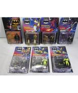 Batman Returns & Dark Knight Lot of 7 Carded Figures - Kenner 1991 FS - $111.27