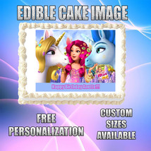 Mia and Me Edible Image Topper Icing Party Cake Frosting CA43 - $8.50