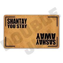 DoubleJun Sashay Away Shantay You Stay Floor Rug Indoor/Front Door Mats Home Dec image 1