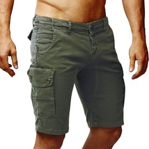 Laamei  New Arrival Summer Men Casual Shorts Sports Pockets Beach Quick Drying S - $18.00