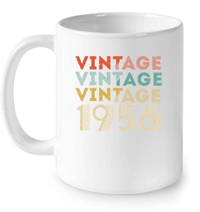 Vintage Legends Born In 1956 Aged 62 Years Old Being Awesome Gift Coffee Mug