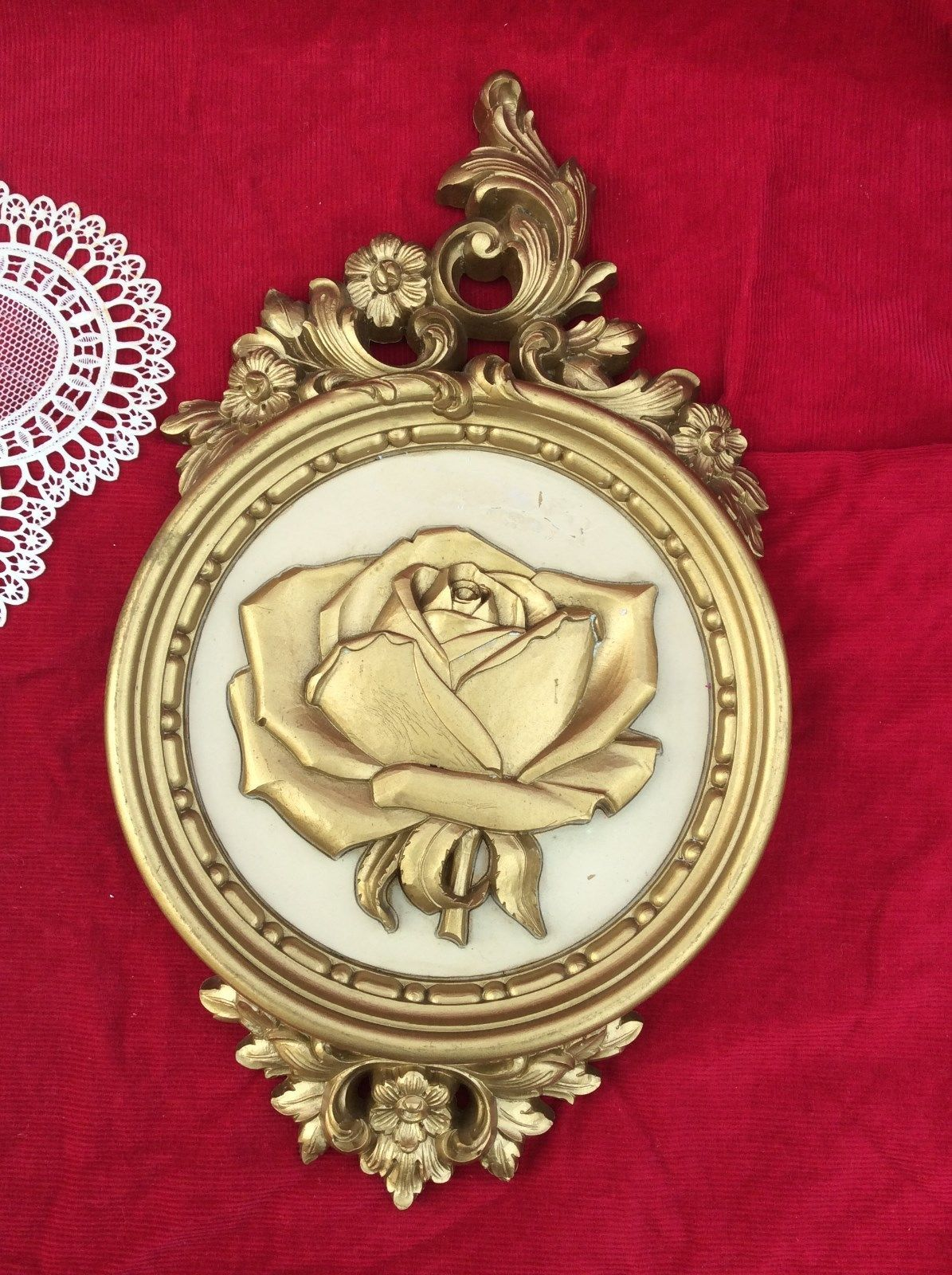Wall Decor, Floral Plaques Hangings,Round and 50 similar items