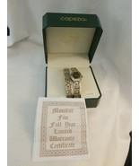 Vintage Capezio Ashley Fields Ladies Quartz Watch and Bracelet - Silver ... - $7.87