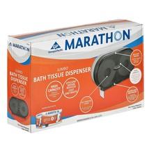 Marathon Jumbo Bath Tissue Dispenser, 6,000 Sheet Capacity (Smoke)BRAND... - $38.77