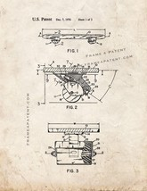 Skateboard Patent Print - Old Look - $7.95+