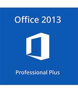 Microsoft Office 2013 Professional Plus 32/64 Bit Key With Download - $226,57 MXN