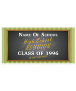 High School Class Reunion Personalized Party Banner - $22.28