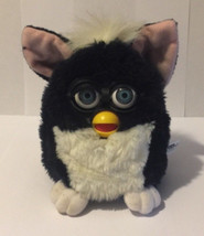 Black and White Furby 1998 Tiger Electronics - $17.41