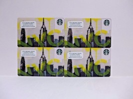 Starbucks NYC Empire State Building Gift Cards 4 Cards Collectible New York - $6.99