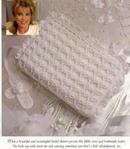 Bride's Bible Cover & Cross Bookmark Vanna Crochet PATTERN Leaflet NEW - $0.90
