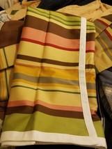 EUC Pottery Barn Duncan Stripe Pillow Sham, Cotton Euro - $30.12
