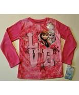 Disney Frozen Girls Long Sleeve T-Shirts Size  4  NWT - $10.39