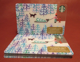 Lot of 9 Starbucks, 2017 Gathering the Christmas Tree Gift Cards New Unused - $36.50