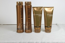 Brazilian Blowout Lot de 4 Shampooing Volume, Après-shampooing, Masque &... - $65.19