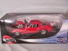 Corvette 1:18 Scale Diecast Hot Wheels Mattel - $45.08