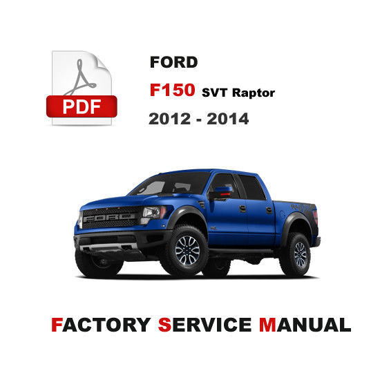 ford f150 service manuals