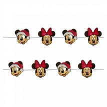 Mickey And Minnie Christmas Mini Fairy Battery Operated Light Set Black - $22.98