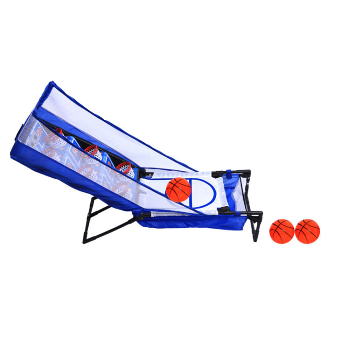 Kids Basketball Shooting Machine Electronic LED Scoring Record Home Indoor Toy G