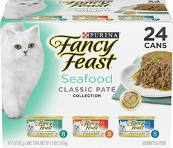 Fancy Feast Classic Seafood Variety Pack Canned Cat Food By Fancy Feast - $35.69